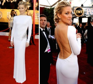 kate-hudson-white-plunging-back-gown-at-SAG-awards-celeb-red-carpet-fashion
