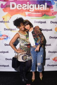 Desigual - Backstage - Mercedes-Benz Fashion Week Fall 2014