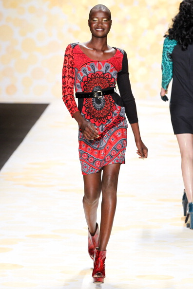 Desigual - Runway - Mercedes-Benz Fashion Week Fall 2014